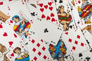 Traditionelle Spielkarten